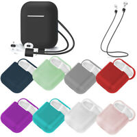 AirPods Accessories Case Protective Silicone Cover Skin For Apple AirPod 12Color