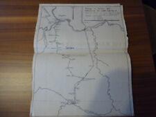 Militär, 1.WK, Kriegskarte, Feldzug in Serbien 1915, 6. Baltr. Fußa. Rgts.18.