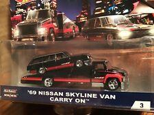 Hot Wheels Carry on Nissan Skyline Wagon ADVAN Team Transport  FLF56-956A 1/64