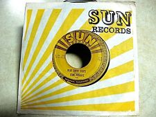 CARL PERKINS SUN  45 rpm  BLUE SUEDE SHOES / HONEY,DON'T  SUN 234 + SUN Sleeve