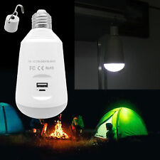7W Portable USB Charging LED Bulb Lamp Light w/ Switch Camping Outdoor AU Stock
