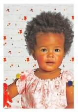 African-American Baby child enfant, Kiekeboe, zomer 2012