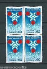 FRANCE - 1967 YT 1520 bloc de 4 - TIMBRES NEUFS** LUXE