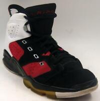 Nike Air Jordan Retro 6 2010 Basketball Shoes 428817-002 Men's Black/Red Sz 16 M