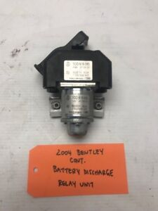 04+ BENTLEY CONTINENTAL GT FLYING SPUR BATTERY DISCHARGE RELAY 3D0919083