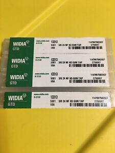 4-Widia 3/8-24NF  H3 Gun Taps