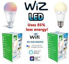 Wiz LED GLS Smart Bulbs 8w = 60w 9W = 60W WATT BC B22 ES E27 Alexa Google Wifi