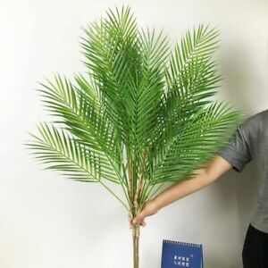Artificial Tropical Palm Leaves Tree Fake Plants Bedroom Decorations Accessories
