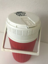 Vintage Igloo Pizza Hut 1/2 Gallon Water Cooler Jug Thermos w/ Handle Red 10.5""