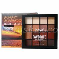 16 Colors Eyeshadow Palette Matte Shimmer Warm Cool Tone Eye Shadow Starter Kit