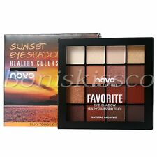 16 Colors Eyeshadow Palette Matte Shimmer Warm Cool Tone Eye Shadow Starter Kit