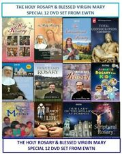 THE HOLY ROSARY & BLESSED VIRGIN MARY SPECIAL BUNDLED 12-DVD SET FROM EWTN.