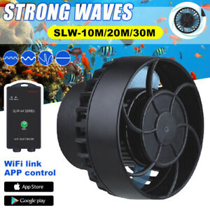 AU Jebao SLW SLW-M Series Wifi APP Control Aquarium Wave Marine Maker Water Pump