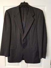 Hickey Freeman Gray Boardroom 40R 100% Wool 2 Button Sport Coat Blazer