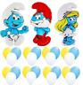 Folienballon Latex Ballon Schlumpf Die Schlümpfe Heliumballon Smurfs Party Deko