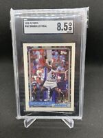 1992 Topps Shaquille O'Neal Rookie #362 Basketball Card RC SGC 8.5