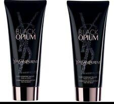 YSL Black Opium Shimmering Body Lotion 2 x 50ml Tubes - 100ml