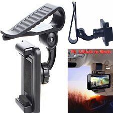 Per Telefono Cellulare GPS PDA UNIVERSALE DA AUTO Aletta Parasole Clip Mount Holder stand staffa