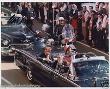 CLINT HILL Autographed Signed Photograph Kennedy Assassination Secret Service