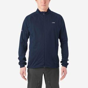 Giro Stow H2O Waterproof Cycling Jacket - Midnight Navy Blue