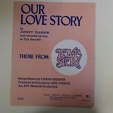ASSOLO di pianoforte il nostro tema storia d'amore da STORIA D'AMORE, Johnny Pearson
