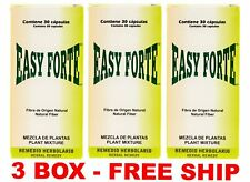 3 PACK EASY FORTE de Easy Figure Labs 100% AUTHENTIC 3 MONTH Supply - 90 Dias
