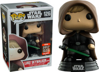 Star Wars Hooded Luke Skywalker with Hood Funko Pop Vinyl NEW in Mint Box + P/P