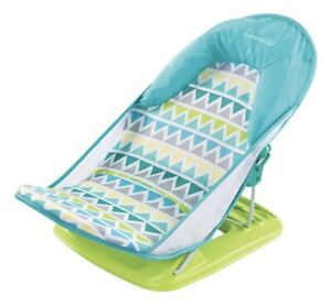 NEW Summer Deluxe Infant Baby Bath Seat Easy Storage Foldable Bather
