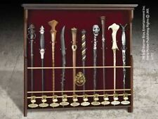 Harry Potter 10 Character Wand Display.Wooden Display ten Harry Potter Wands