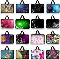 """NEW FLOWER UNIVERSAL 10 INCH 10.1"""" 10.2"""" TABLET NOTEBOOK CARRYING BAG COVER CASE"""