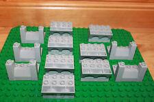 Lego Duplo Ritterburg - 12 x Zinne in grau für Turm, Burg, Ritter 51732 51698