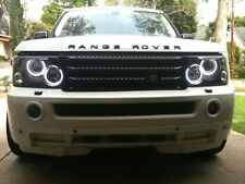 06-09 LAND ROVER RANGE ROVER SPORT UHP LED ANGEL HALO RINGS CCFL XENON HEADLIGHT