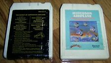 JEFFERSON AIRLPANE - TWO 8 Track Tapes - THIRTY SECONDS OVER WINTERLAND & WORST!