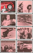 ONCE UPON A WHEEL/1971 AUTO RACING DOCUMENTARY lobby card posters PAUL NEWMAN