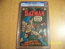 BATMAN #210 CGC 7.5 / CATWOMAN / LEGION OF FELINE FURIES / DC COMICS
