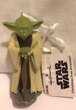 Hallmark Star Wars Yoda Resin Christmas Tree Ornament.
