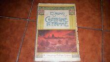EMILIO SALGARI CARTAGINE IN FIAMME ED. VALLARDI 1946 20 DISEGNI A. DELLA VALLE