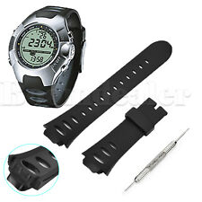 Replacement Silicone Wristwatch Band Straps w/Tool for SUUNTO OBSERVER SR X6HRM