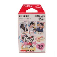 Mickey Fujifilm Instax Mini Instant Film 10 Sheets For Mini 9 8 7s 70 90 25 SP-2