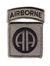 "82nd AIRBORNE DIVISION ""ACU Patch"" (Fabrication Actuelle)"