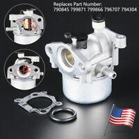 US Carburetor For Briggs & Stratton 794304 796707 799866 790845 799871 Craftsman