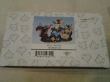 """Charming Tails """"Party Animals"""" by Fitz & Floyd item number 89/101 - Nib"""
