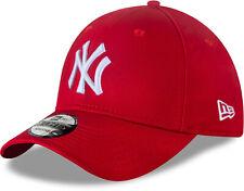 NY Yankees Era 9forty League Basic Red Baseball Cap