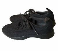 Allbirds Merino Wool Runners Charcoal Grey and Black Shoes Women's Size 9 US