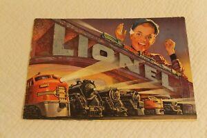 Vintage 1952 Original Full Color Lionel Train Catalog, Trains and Accessories