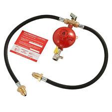 More details for 2 cylinder change over kit for propane lp lpg bottle gas bottle outlet regulator