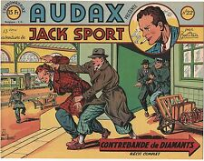 AUDAX première série n°22. BOB DAN.  Ed. Artima 1950.