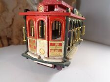 Ghirardelli Chocolate, All Wood San Francisco Cable Car Powell & Hyde 5-64-15