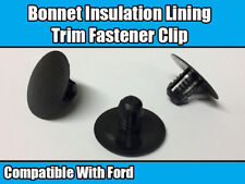 30mm Gloss Red Bonnet Raisers//Lifters MK6 Ford Fiesta 2.0 Zetec ST150 ST ZS