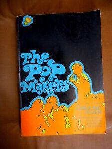 Vintage The Pop Makers Paperback book Rock Bands Teenagers 1966